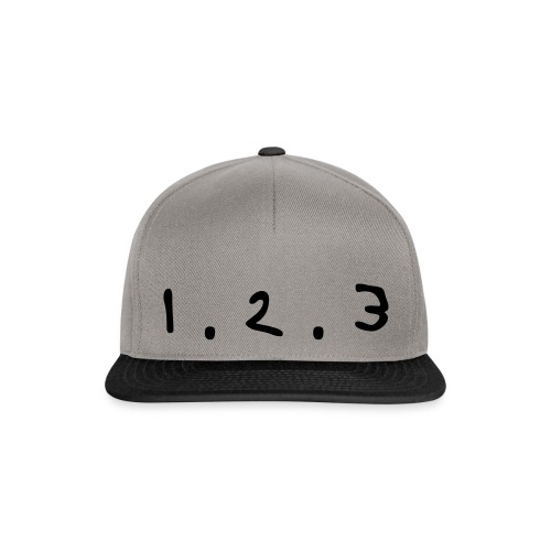 Snapback - 1.2.3 ! - Casquette snapback