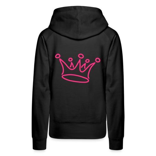 Crown stuff - Frauen Premium Hoodie