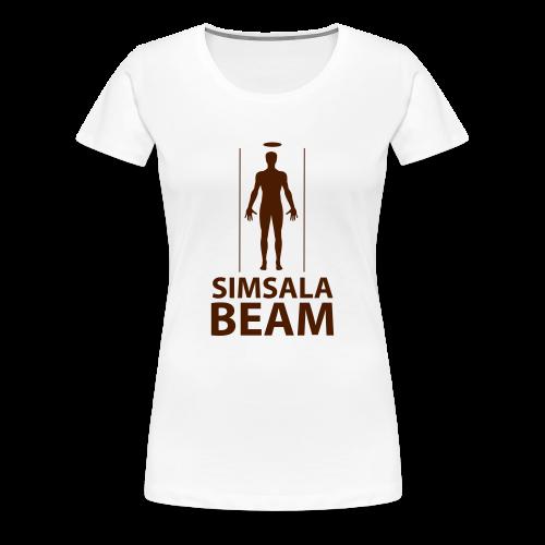 Beam..Braun - Frauen Premium T-Shirt