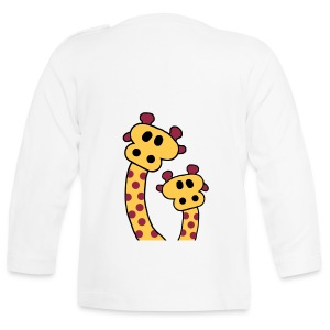 Two Giraffes - Baby Long Sleeve T-Shirt