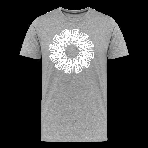 """Mandala SOHAM """"sanskrity"""" - Männer Premium T-Shirt"""