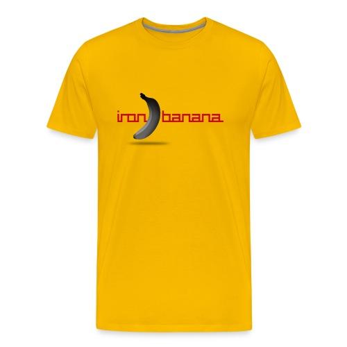 Iron Banana Logo Premium Women's Tee - Men's Premium T-Shirt