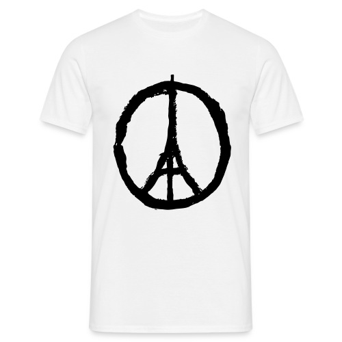 Peace Paris - T-Shirt - Herre-T-shirt