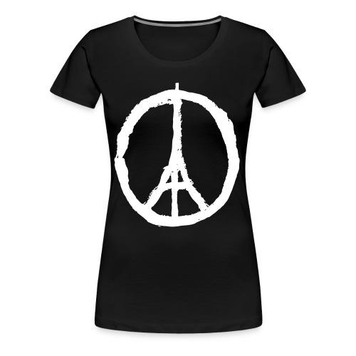 Peace Paris - Pige T-shirt - Dame premium T-shirt