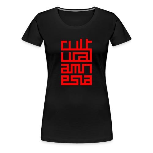 Cultural Amnesia Premium Women's Tee - Women's Premium T-Shirt