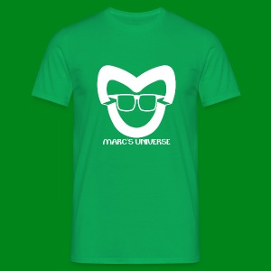 Marcs Universe Logo Shirt Green - Mannen T-shirt