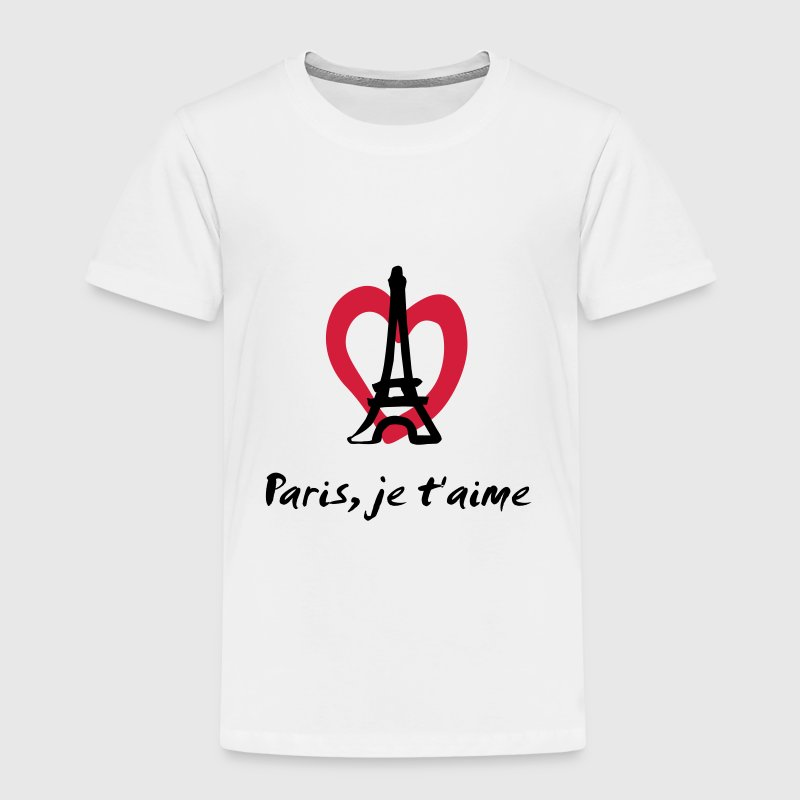 Paris, je t'aime - France T-Shirts - Kinder Premium T-Shirt