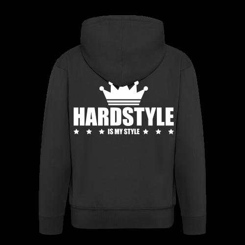 hard1 - Männer Premium Kapuzenjacke
