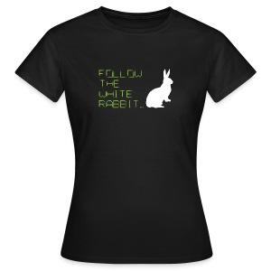 Follow The White Rabbit - Women's T-Shirt