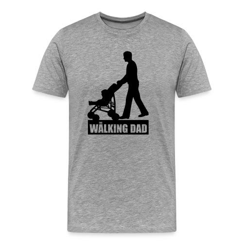 Walking Dad - Männer Premium T-Shirt