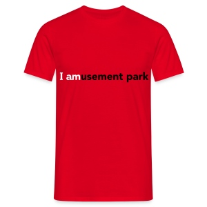 I AMusement park - Men's T-Shirt