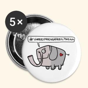 Spillette elefante - Spilla media 32 mm