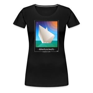 Travel by Paper Boat - Vrouwen Premium T-shirt