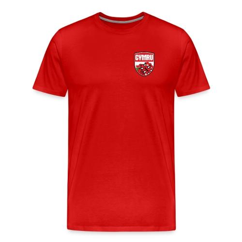 Wales Tee Red - Men's Premium T-Shirt