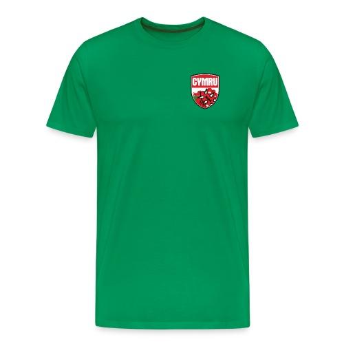 Wales Tee Green - Men's Premium T-Shirt