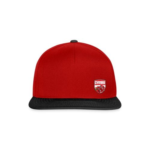 Wales Cap Red & Black - Snapback Cap