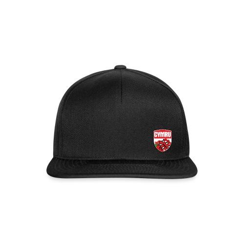 Wales Cap Black - Snapback Cap