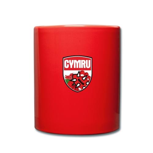 Wales Mug Red - Full Colour Mug