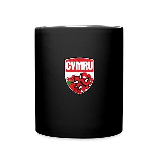 Wales Mug Black - Full Colour Mug