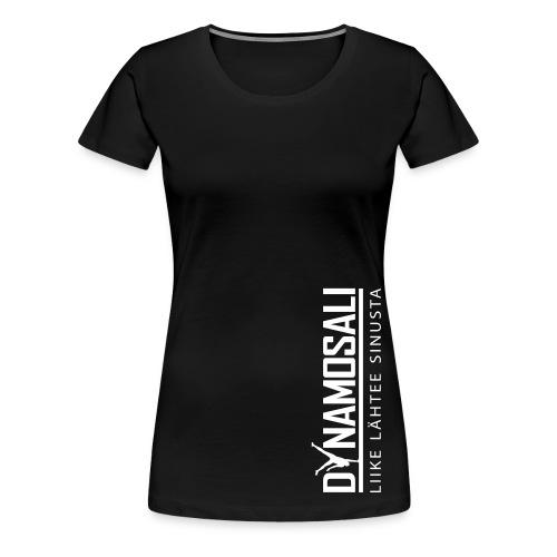 Naisten puuvillapaita  - Naisten premium t-paita