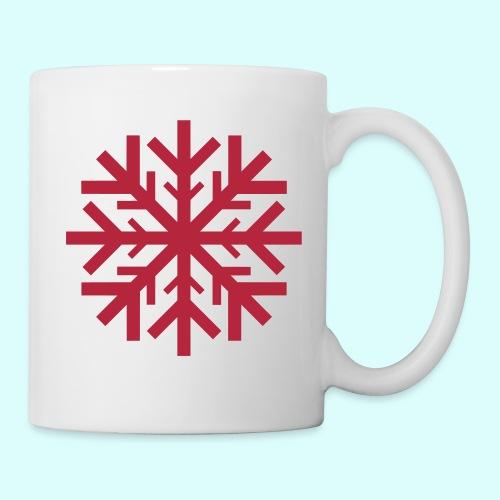 Schneeflocke Tasse - Tasse