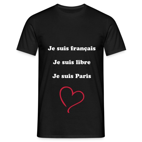 Tee shirt nous somme libre - T-shirt Homme