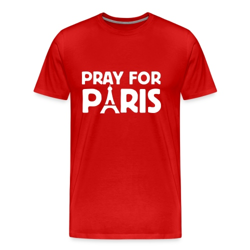 Pray for Paris - Männer Premium T-Shirt