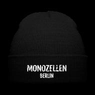 Caps & Mützen ~ Wintermütze ~ Monozellen Wollmütze, schwarz