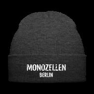 Caps & Mützen ~ Wintermütze ~ Monozellen Wollmütze, grau