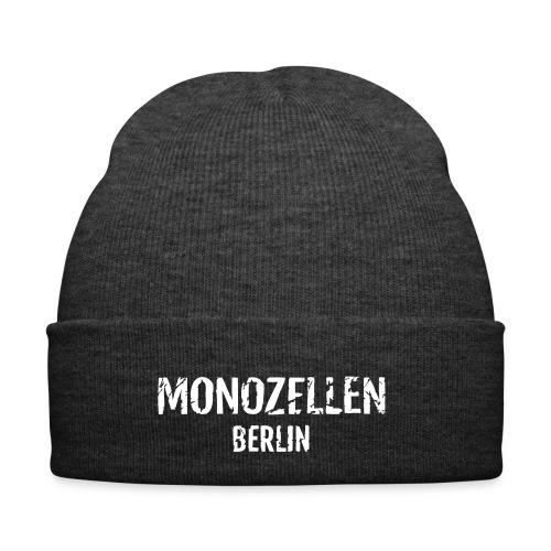 Monozellen Wollmütze, grau - Wintermütze