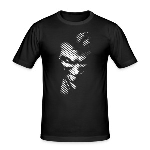 Joker black & white mannen T-shirt - slim fit T-shirt