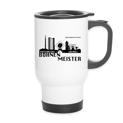 Der Bohnemeister Kaffeethermobecher mit Deckel - Thermobecher