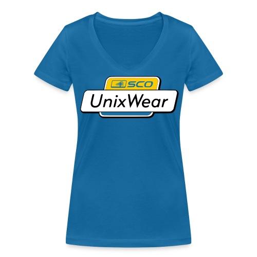 SCO UnixWear pour femme - Women's Organic V-Neck T-Shirt by Stanley & Stella