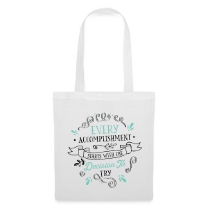 Tote Bag Every Accomplishment - Tote Bag