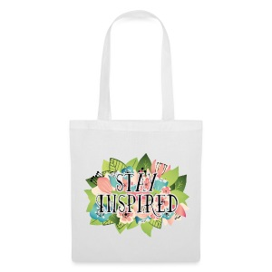 Tote Bag Stay Inspired - Tote Bag