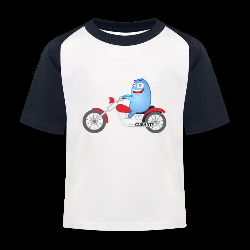 CUBANTY Baseball Shirt Kind - Kinder Baseball T-Shirt