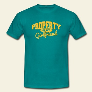 Property Of My Girlfriend - T-shirt Homme