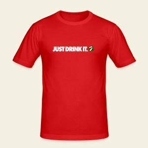 Just drink it - Tee shirt près du corps Homme