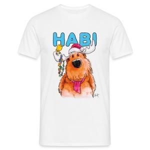 Habi (der kleine Elch) Shirt - Männer T-Shirt