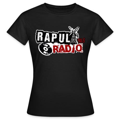 Rapularadio Logo Ladyfit - Naisten t-paita