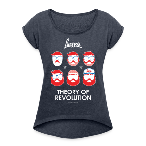 THEORY of REVOLUTION girl - Maglietta da donna con risvolti