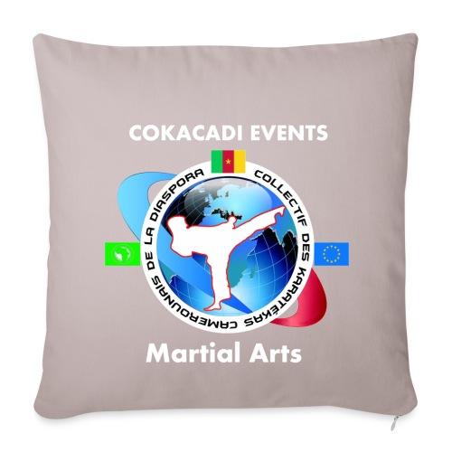 Taie d'oreiller Martial Arts COKACADI EVENT'S - Housse de coussin décorative 44x 44cm