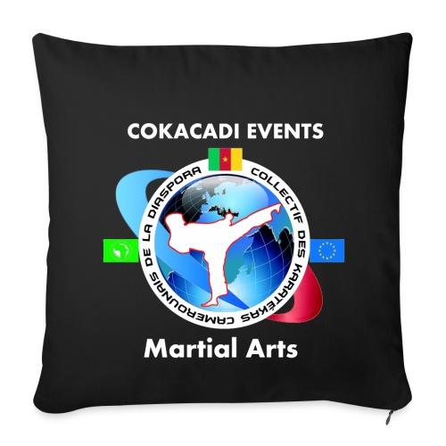 Housse de coussin Martial Arts COKACADI EVENT'S - Housse de coussin décorative 44x 44cm