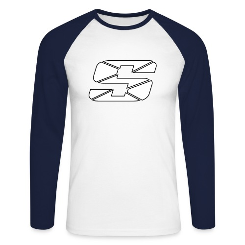 SpinAndFlip Shirt - Men's Long Sleeve Baseball T-Shirt