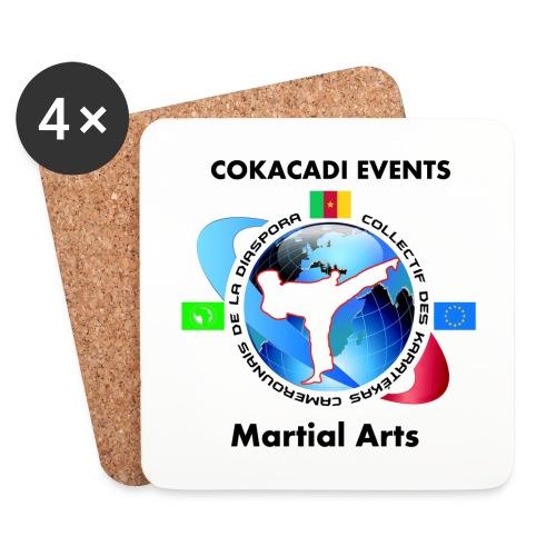 Dessous de verre Martial Arts COAKACADI EVENT'S - Dessous de verre (lot de 4)
