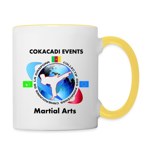 Tasse Bicolore Martial Arts COAKACADI EVENT'S - Mug contrasté