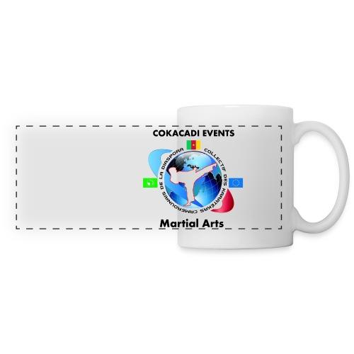 Tasse Panorama Martial Arts COAKACADI EVENT'S - Mug panoramique contrasté et blanc