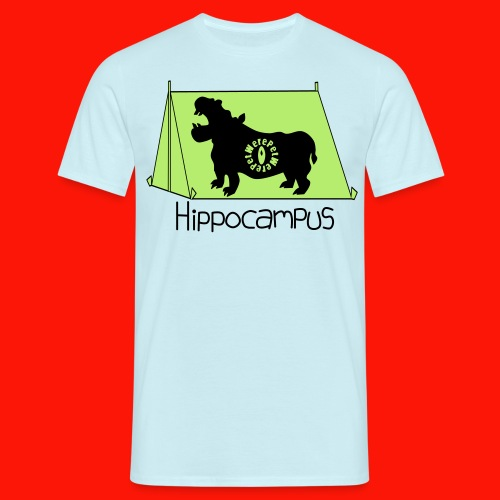 Hippocampus Mens Tee - Men's T-Shirt