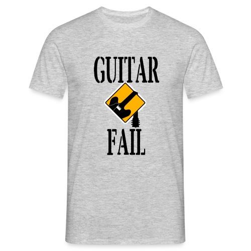 Guitar Fail Logo - Men's T-Shirt