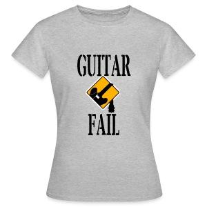 Guitar Fail Logo - Women's T-Shirt
